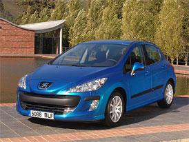 Peugeot 308: Akční ceny začínají na 319.900,-Kč vč. klimatizace a rádia