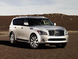 Infiniti QX56: Premiéra nové generace obřího SUV v New Yorku
