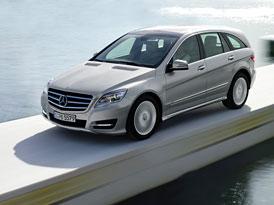 Mercedes-Benz R: Modernizace po pěti letech