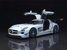 Video: Mercedes-Benz SLS AMG GT3: Statické představení
