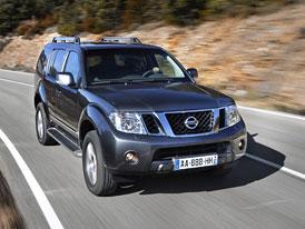 Nissan Pathfinder 2010: Posilněný 2,5 dCi za 849.000,- Kč, šestiválec za 1.247.000,- Kč