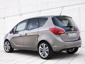Opel Meriva: Kompletní technická data