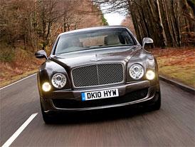 Bentley Mulsanne: Motory 6,75 l V8 se vyr�b�j� v Crewe v�t�inou ru�n�