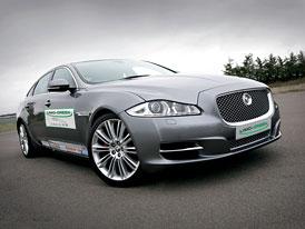 Jaguar XJ Limo-Green: Hybrid s motorem 1,2 l a elektromotorem se 145 kW, 400 Nm