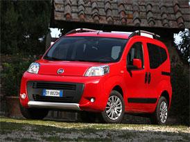 Fiat Qubo Trekking na českém trhu za 354.900,-Kč
