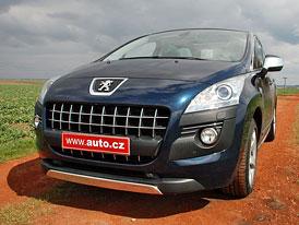 Dlouhodob� test Auto.cz: Peugeot 3008 2,0 HDI (110 kW)