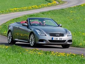 Infiniti G37 Cabrio 2010: S šestiválcem na českém trhu od 1.420.500,- Kč