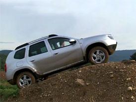 Video: Dacia Duster – Jízda v terénu