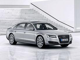 Audi A8 L W12 quattro: Dlouhá A8 měří 5,27 m a dostane motor 6,3 W12 (368 kW, 625 Nm)