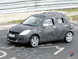 Spy Photos: Nov� Suzuki Swift, prvn� fotografie interi�ru