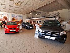Toyota C&K, a.s. otevřela v Brně nový servis