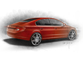 Škoda Superb Fastback v aktuálním čísle časopisu AutoDesign&Styling