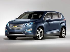 Chevrolet Volt MPV5: Koncept MPV s hybridním pohonem
