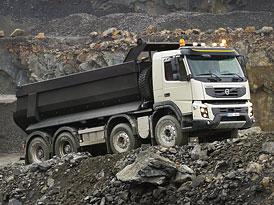 Volvo FMX: Novinka pro práci v náročném terénu