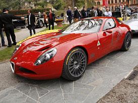 Zagato TZ3 Stradale: Designová super-Alfa dostane geny Viperu