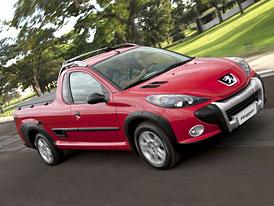 Peugeot Hoggar: Brazilský pick-up (nové fotografie)