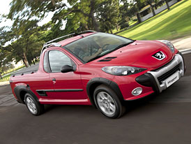 Peugeot Hoggar: Brazilsk� pick-up (nov� fotografie)