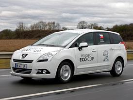 Peugeot Eco Cup: Jízda na spotřebu z Paříže do Ženevy (reportáž)