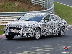 Spy Photos: Nové Audi A7 na Nordschleife