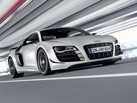 Audi R8 GT: 412 kW, 540 Nm a k tomu o 100 kg nižší hmotnost