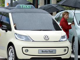 Volkswagen Berlin Taxi: Up! jako elektromobil v Berlíně