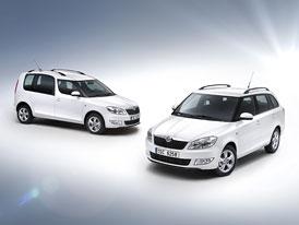 Škoda Fabia Combi a Roomster Greenline: Nově s motorem 1,2 TDI (55 kW)