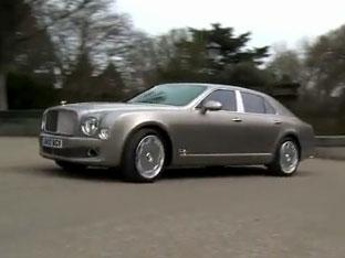 Video: Bentley Mulsanne – Luxusní limuzína na projížďce