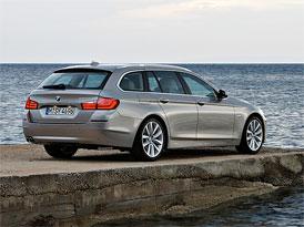 Český trh v červenci 2011: BMW 5 zpět v čele vyšší střední třídy