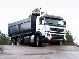Video: Volvo FMX II – Testování nového nákladního vozu