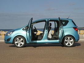 Opel Meriva: Nová generace vstupuje na český trh s cenou 329.900,- Kč
