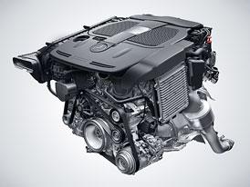Mercedes-Benz: Nové motory V6 a V8 CGI biturbo už na podzim