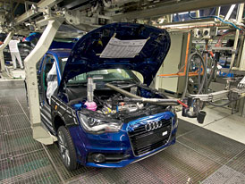 Audi A1: Sériová výroba v Bruselu byla zahájena
