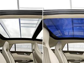 Mercedes-Benz Magic Sky Control: Prosklen� st�echa s prom�nlivou barvou ve v�rob� od roku 2011