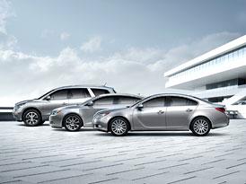 Buick: Modelová paleta se do roku 2012 rozšíří na 5 řad