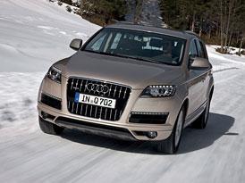 Audi Q7 s nov�mi motory: 3,0 TFSI od 1,503 milionu K�, nov� 3,0 TDI za 1,437 milionu K�