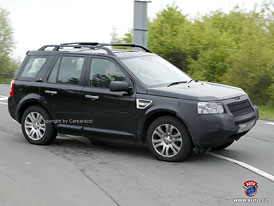 Spy Photos: Land Rover Freelander se do�k� je�t� jedn� modernizace