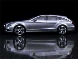 Video: Mercedes-Benz Shooting Brake Concept – Exteriér stylového kombi