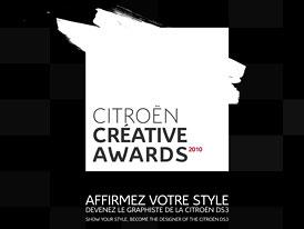 CITROËN CREATIVE AWARDS: Citroën pořádá soutěž v grafickém designu