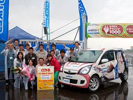 Elektromobil v Japonsku ujel 1000 km na jedno nabití, míří do Guinnesovy knihy rekordů