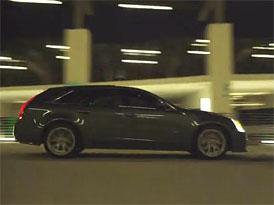 Video: Cadillac CTS-V Sport Wagon -  Prohlídka designu výkonného kombi