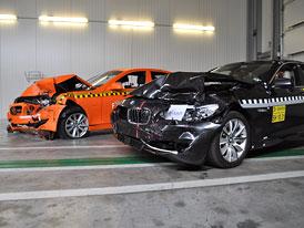 ADAC: První crash test se zapnutým přednárazovým systémem absolvovalo BMW 530d
