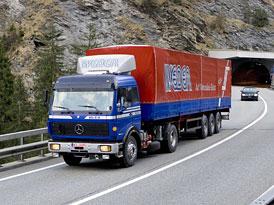 M-B Transalp Trucking - Srovnání techniky