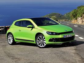 Volkswagen Scirocco: Nová první cena 499.900,- Kč