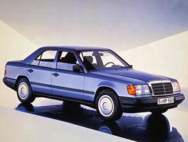 Mercedes-Benz W124/W201: Youngtimery s trojcípou hvězdou mohou mít filtr pevných částic