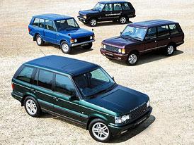 Range Rover slaví 40 let, LRX přijde ještě letos