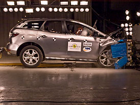 Euro NCAP 2010: Mazda CX-7 – Pouze čtyři hvězdy, rezervy existují téměř všude