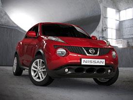 Nissan Juke: Kompletní český ceník, první cena 369.000,- Kč, 1,6 T (140 kW) za 500.000,-Kč
