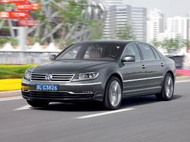 Volkswagen Phaeton po faceliftu: Nové fotografie