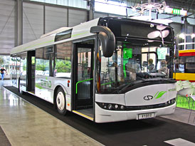 Autotec 2010: Autobusy Solaris Urbino 12 Hybrid a InterUrbino 12