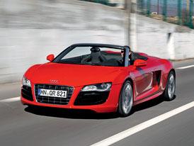 Audi R8 Spyder 5,2 V10 FSI na českém trhu za 4,2 milionu Kč